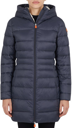 Save The Duck Giga Long Hooded Jacket