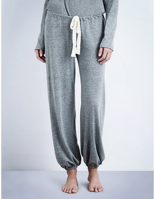 Eberjey Women's Heather Grey Cropped Pyjama Bottoms, Size: Large