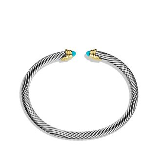 David Yurman Kid's Large Turquoise Bracelet (Dec)