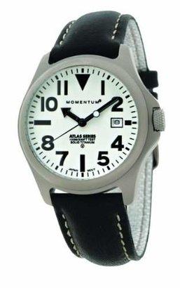 Momentum Men's 1M-SP00W2B Atlas Classic Analog with Titanium dial Watch