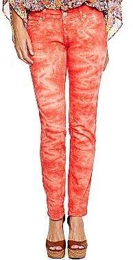 JCPenney a.n.a® Tie-Dye Print Skinny Jeans