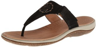 ACORN Women's Vista Beaded Thong Flip Flop $19 thestylecure.com