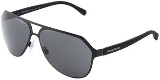 Dolce & Gabbana DG2123 (Matte Black/Gray) - Eyewear