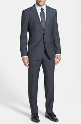 HUGO BOSS 'James/Sharp' Trim Fit Check Suit