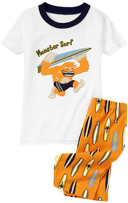 Gymboree Monster Surf Shortie Two-Piece Gymmies®