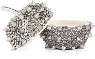 BCBGMAXAZRIA Spiked Apple Jewelry Box