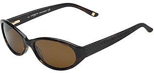 Liz Claiborne Oval Frame Sunglasses - DarkTortoise
