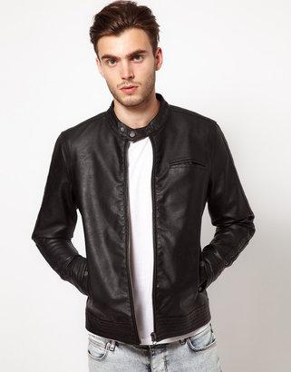 Asos Faux Leather Jacket