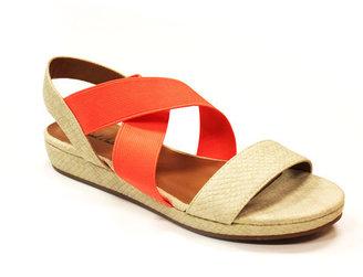 Michael Antonio Two Tone Sandals Natural