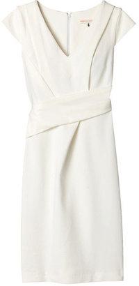 Rebecca Taylor Asymmetrical V-Neck Dress