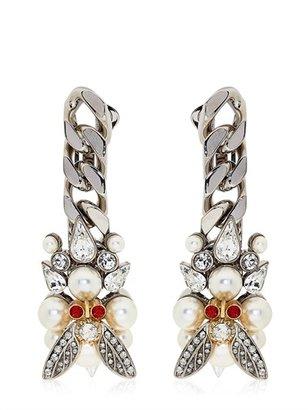Schield Indian Siam Earrings