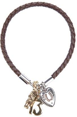 Dolce & Gabbana braided leather bracelet