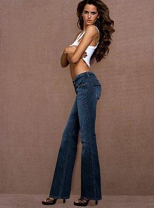 """Victoria's Secret Blue London Jean The """"V"""" Cut Jean in stretch"""