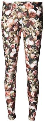 Givenchy rose print legging