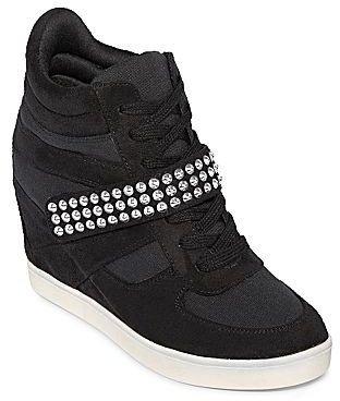 JCPenney Olsenboye® Olivia High-Top Wedge Sneakers