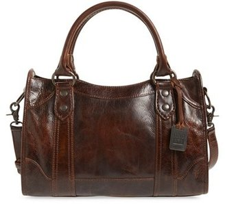Frye 'Melissa' Washed Leather Satchel - Brown $388 thestylecure.com
