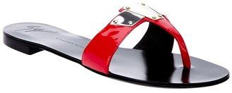 Giuseppe Zanotti Design flat sandal