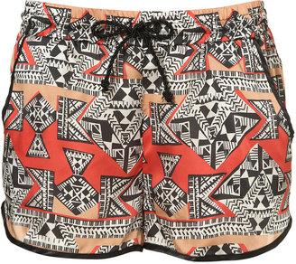 Topshop Aztec Running Shorts