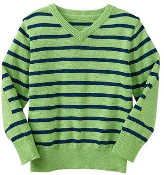 Gap V-neck stripe sweater