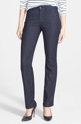 Petite Women's Nydj 'Marilyn' Stretch Straight Leg Jeans $114 thestylecure.com