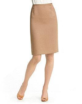 Tahari ASL® Textured Skirt