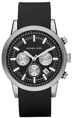 Michael Kors Men's Silicone Chronograph Watch