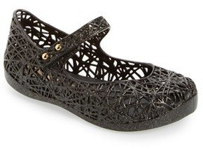 Toddler Girl's Mini Melissa 'Campana' Mary Jane Flat $54.95 thestylecure.com