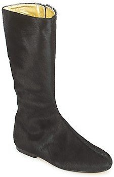 French Sole PATCH women's High Boots in Black
