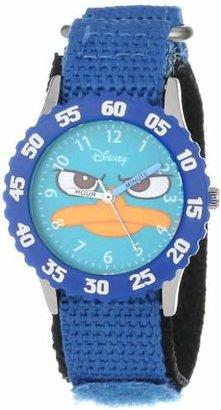 "Disney Kids' W000157 ""Agent P ""Time Teacher Watch"