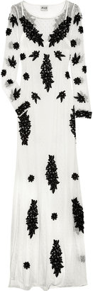ALICE by Temperley Evelyn lace-appliquéd maxi dress
