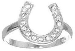 Kate Landry horseshoe ring