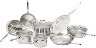 Emerilware Pro Clad Tri-Ply Cookware Set 12pc, Stainless Steel