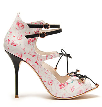 Webster Sophia Finn Rose Print Sandal