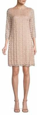 Eliza J Embellished Lace Shift Dress