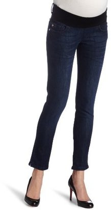 DL1961 Women's Angel Maternity Ankle Skinny Tonal Jean