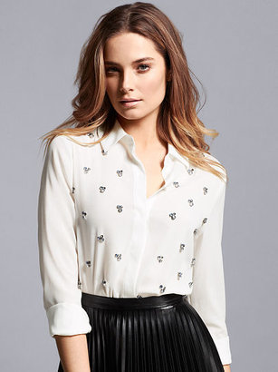 Victoria's Secret Rhinestone-studded Shirt