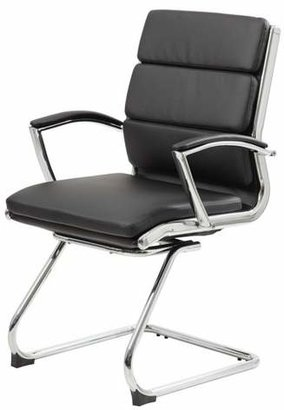 Boss Contemporary Executive Guest Chair - Black