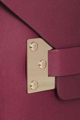 Sophie Hulme Envelope mini leather shoulder bag