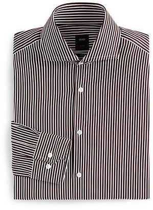 HUGO BOSS Christo Striped Dress Shirt