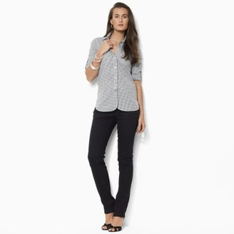 Lauren Ralph Lauren Ralph Long-Sleeved Gingham Shirt