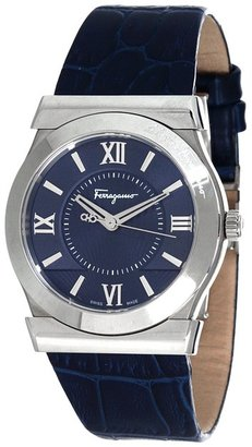 Salvatore Ferragamo Vega 527800 (Blue/Stainless Steel) - Jewelry