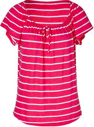 Splendid Pink/White Striped Top