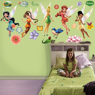 Fathead Disney Fairies Wall Decal