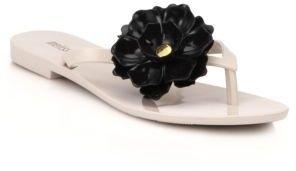 Melissa Harmonic Flower Flip Flop Sandals