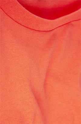Topshop Rolled Sleeve Crop Tee