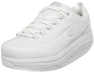 Skechers for Work Women's Shape Ups 76428 Slip Resistant Sneaker $95 thestylecure.com