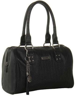 Roxy Keepsake Satchel (Black) - Bags and Luggage