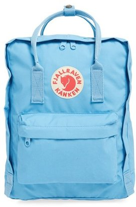 Fjallraven 'Kanken' Water Resistant Backpack - Blue $80 thestylecure.com
