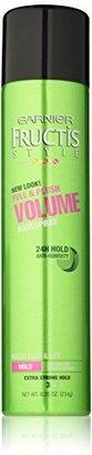 Garnier Fructis Style Volumizing Anti Humidity Hairspray, 8.25 Ounce $4.97 thestylecure.com