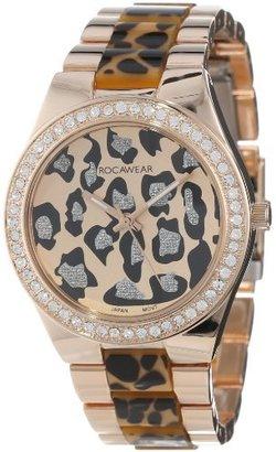 Rocawear Women's RL0123RG1-729 Stylish Bracelet Enamel Bezel Watch $38 thestylecure.com